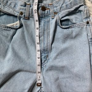 Jeans - Vintage Light Wash High Rise Mom Tapered Jeans